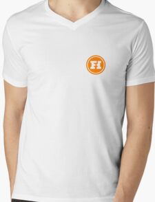 Funhaus Logo Mens V-Neck T-Shirt