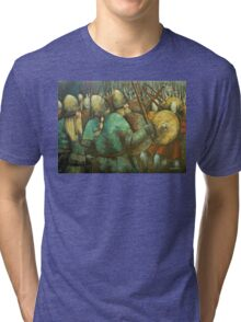 A Viking Skirmish Tri-blend T-Shirt