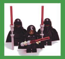 Lego Star Wars Emperor & Shadow Guards March Minifigure Kids Tee