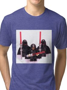 Lego Star Wars Emperor & Shadow Guards March Minifigure Tri-blend T-Shirt
