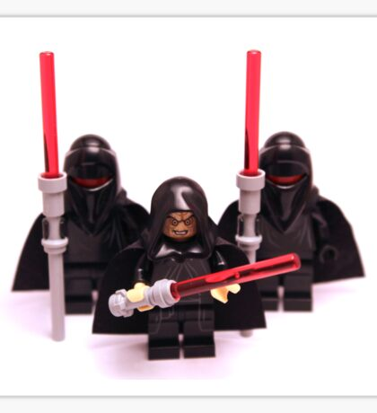 Lego Star Wars Emperor & Shadow Guards March Minifigure Sticker