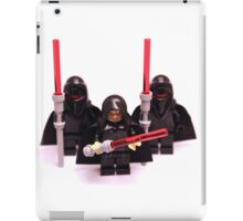 Lego Star Wars Emperor & Shadow Guards March Minifigure iPad Case/Skin