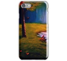 """TWILIGHT IN THE WOODS"" iPhone Case/Skin"