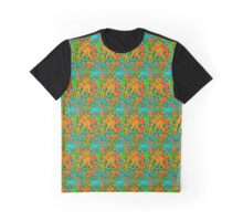 Chinnamasta Psychedelic Graphic T-Shirt