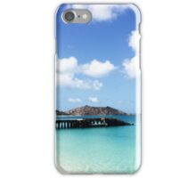 Caribbean Island Jetty iPhone Case/Skin