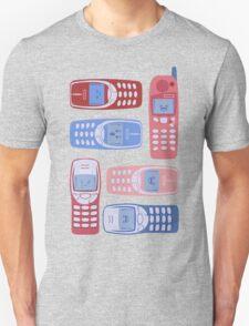 Vintage Cellphone Reactions Unisex T-Shirt