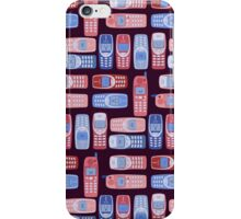 Vintage Cellphone Reactions iPhone Case/Skin