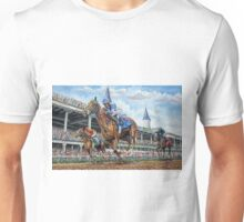 Kentucky Derby - Down the Stretch Unisex T-Shirt