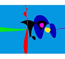 Abstract Expressionism Simple Digital Art Photographic Print