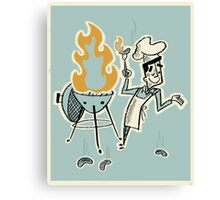 Grill Master Canvas Print
