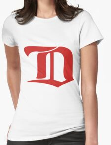 The Winter Classic D Womens Fitted T-Shirt