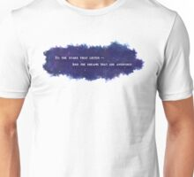 To The Stars That Listen (White) - A Court of Mist and Fury Unisex T-Shirt