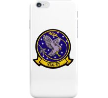 VFA-97 Warhawks Patch iPhone Case/Skin