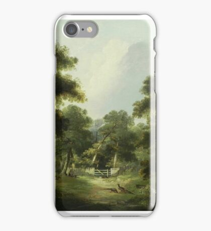 George Armfield - Landscape with Pheasant iPhone Case/Skin
