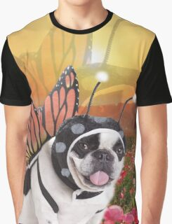 Butterfly Dog, Doggo #2 Graphic T-Shirt