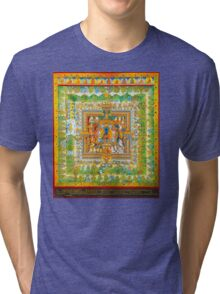 Medicine Buddha's paradise Psychedelic Tri-blend T-Shirt