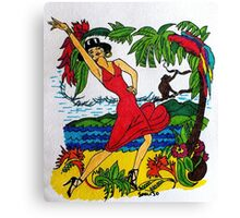 Mambo Tropicano  Canvas Print
