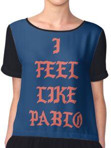 i feel like pablo long sleeve Chiffon Top