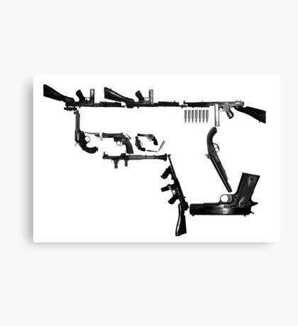 Guns Canvas Print