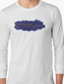 To The Stars That Listen (Gold) - A Court of Mist and Fury Long Sleeve T-Shirt