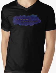 To The Stars That Listen (Gold) - A Court of Mist and Fury Mens V-Neck T-Shirt