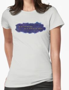 To The Stars That Listen (Gold) - A Court of Mist and Fury Womens Fitted T-Shirt