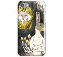Hare and Fox's tail iPhone Case/Skin