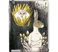 Hare and Fox's tail iPad Case/Skin