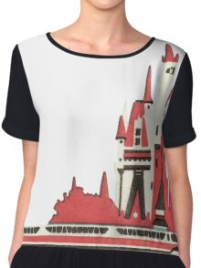 Monorail Castle Chiffon Top