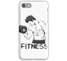 Fitness man iPhone Case/Skin