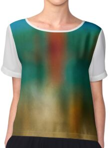 Color Abstraction XXVI Chiffon Top