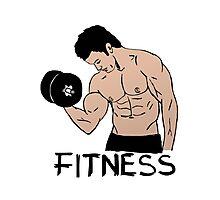 Fitness Photographic Print