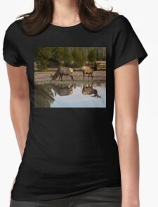 Spring Reflections #2 Womens Fitted T-Shirt