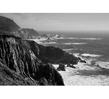 Big Sur Coast BW  Photographic Print