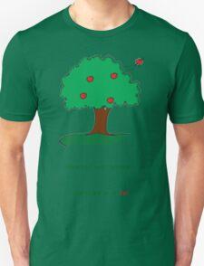 Gravity is a lie Unisex T-Shirt