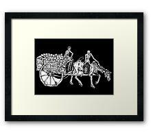 Triumph of Death Detail Framed Print
