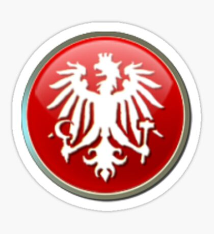 Civilization V Austria Emblem Sticker Sticker