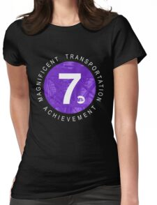 7 Train Womens Fitted T-Shirt
