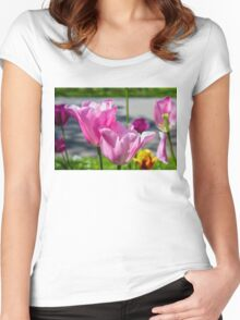 Tulips from Amsterdam Women's Fitted Scoop T-Shirt