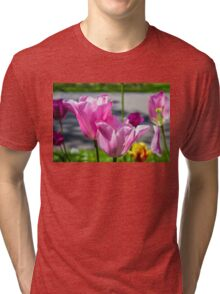 Tulips from Amsterdam Tri-blend T-Shirt