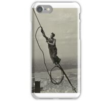 Icarus, Empire State Building ,  Lewis Hine (American, ) iPhone Case/Skin