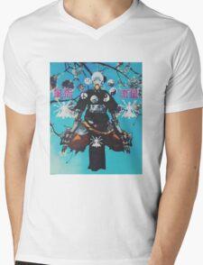 Z E N . Y A T T A Mens V-Neck T-Shirt
