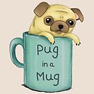 Pug in a Mug by Katie Corrigan