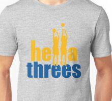 hella threes shirt Unisex T-Shirt