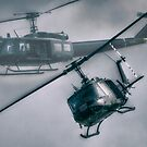 Bell UH-1H Helicopter (Huey 509) by Nigel Bangert