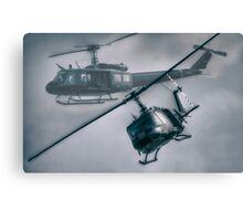 Bell UH-1H Helicopter (Huey 509) Canvas Print