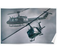 Bell UH-1H Helicopter (Huey 509) Poster
