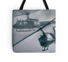 Bell UH-1H Helicopter (Huey 509) Tote Bag