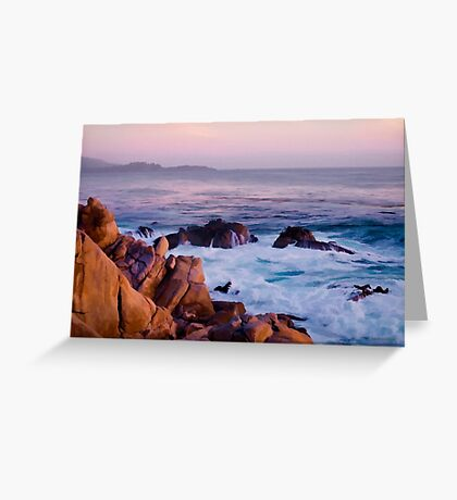 17 Mile Drive Monterey CA Greeting Card