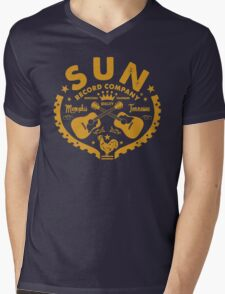 SUN Records Mens V-Neck T-Shirt